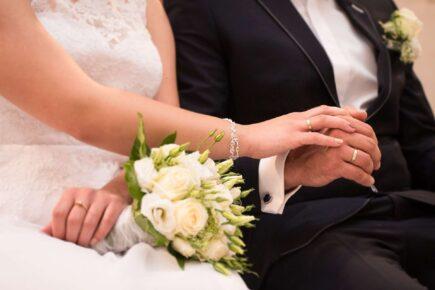wedding 997634 1920 435x290 - Przebieg mszy świętej podczas ceremonii ślubnej