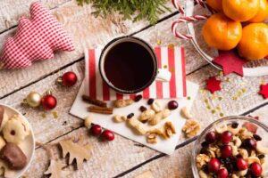 Ślub w Boże Narodzenie - wystrój stołu