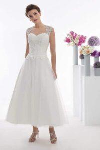 suknia ślubna w długości 7/8 oreasposa