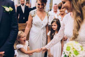Dekoracje ślubne ślubu zimą - panna młoda - zimowy ślub i wesele