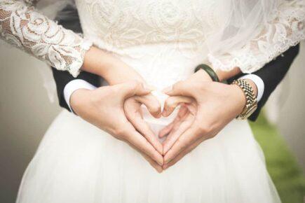 Życzenia ślubne dla młodej pary
