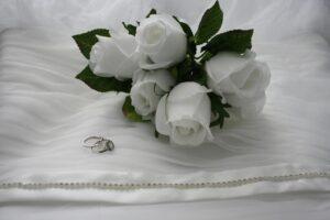 biale roze 300x200 - Znaczenie kwiatów - znaczenie kolorów i ich symbolika